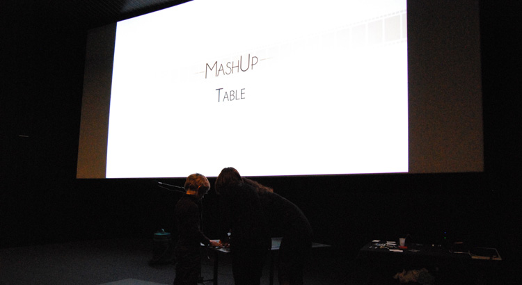 LA TABLE MASH'UP